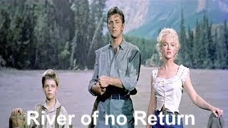 River of No Return- Robert Mitchum/Marilyn Monroe- Rivière sans retour (Lyrics)