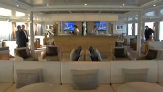 Croisière de luxe : le Viking Forseti s'installe dans le port de Bordeaux