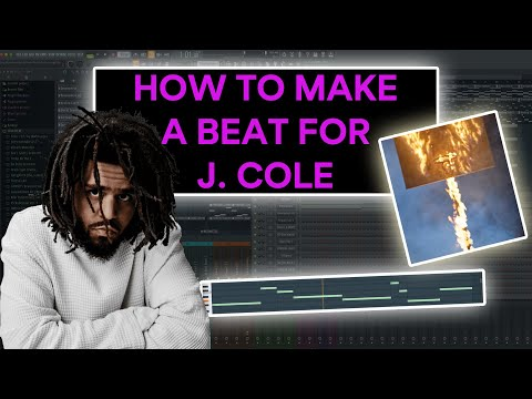 HOW TO MAKE A WAVY BEAT FOR 'THE OFF-SEASON' BY J. COLE ‼️ – FROM SCRATCH (FL Studio Tutorial)