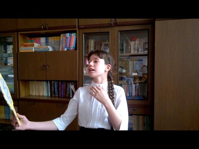 Изображение предпросмотра прочтения – ВикторияТерновская читает произведение «Ворона и Лисица» И.А.Крылова