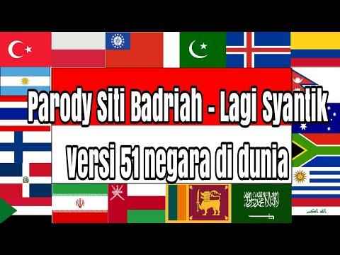 PARODY Lagi Syantik - Siti Badriah Versi Nama Negara Di Dunia
