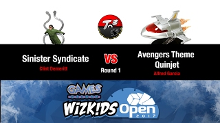 T3   Winter Wko 2017   Sinister Syndicate Vs Avengers Theme Quinjet [heroclix Meta Game]