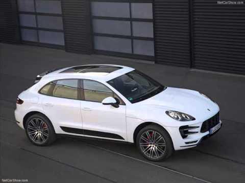 All New 2014 Porsche Macan Turbo White  YouTube