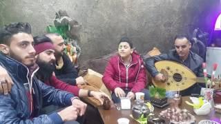 أمير عموري يغني ويمر بي طيفها اسمها شام مع aloosh al-assad