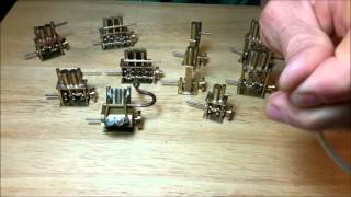 Miniature steam boat engines by Leslie Proper