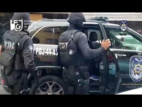 FGJ-CDMX detuvo a 10 personas y aseguraron narcóticos tras cateos