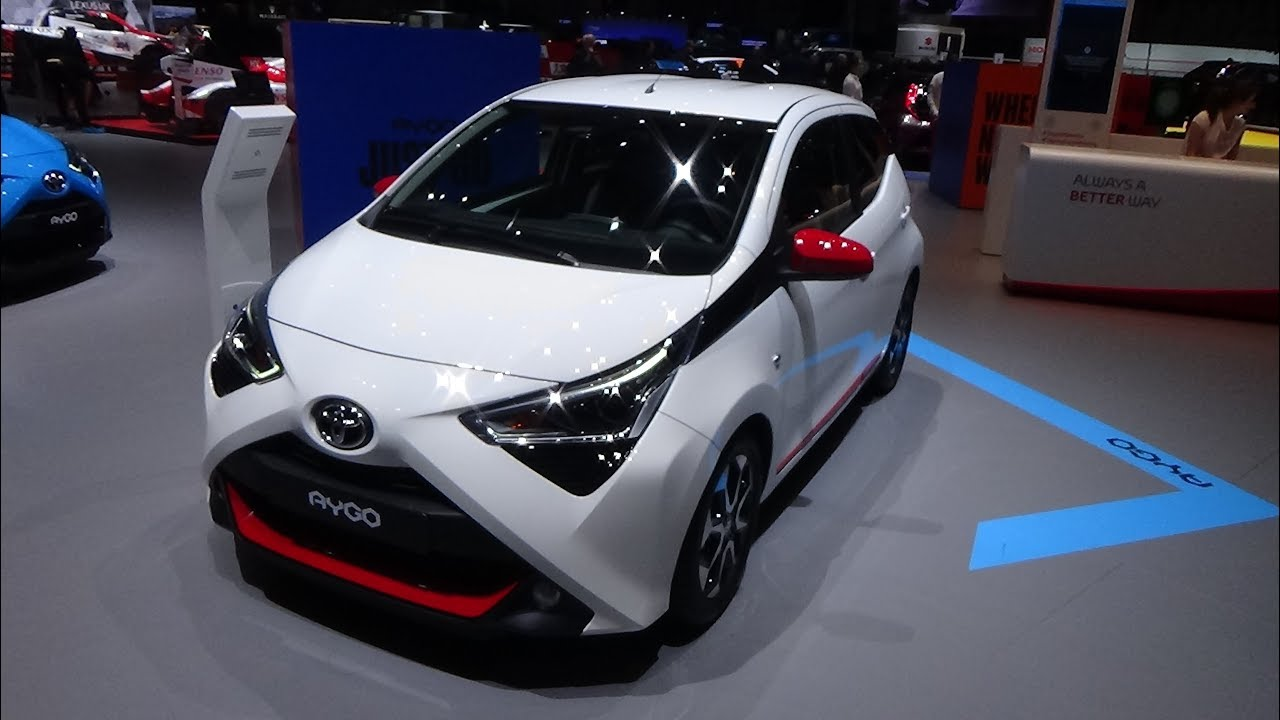 2019 toyota aygo x play exterior and interior geneva. Black Bedroom Furniture Sets. Home Design Ideas