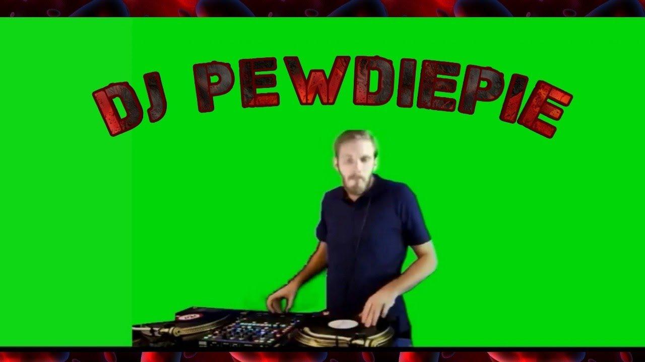 Dj Pew Pie Green Screen Free To Use