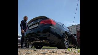 Холодный пуск BMW M3 coupe.