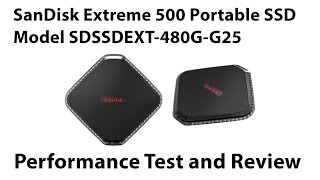 SanDisk Extreme 500 Portable SSD Review and Speed Test