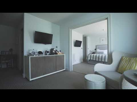 Bedrooms at Salcombe Harbour Hotel