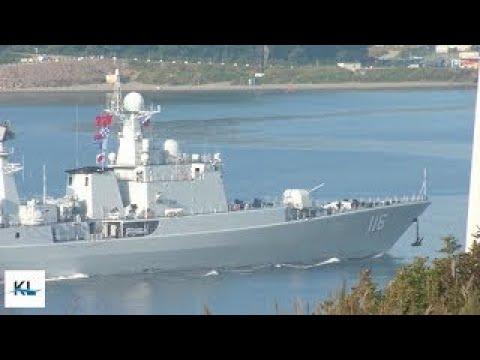Finally : Russian allow Chinese warships entering Vladivostok port