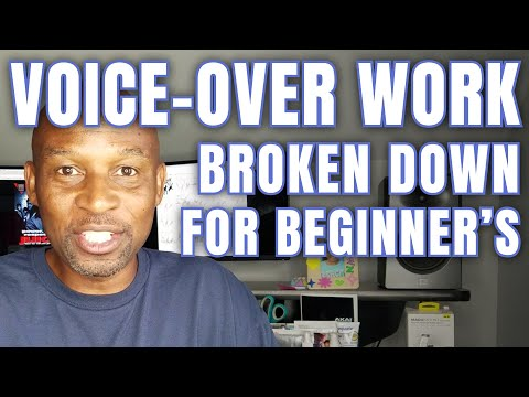 How To Start Doing Voice-over Work