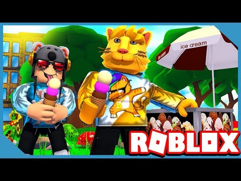 SPENDING ALL OUR ROBUX IN ROBLOX ICE CREAM SIMULATOR