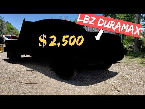 $2,500 LBZ 6.6L DURAMAX! ANOTHER  Project Truck!