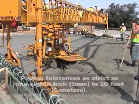 Terex Bid Well Bridge Pavers