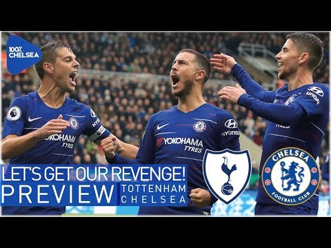 TOTTENHAM vs CHELSEA || LET'S GET OUR REVENGE! || KANTE SIGNS NEW DEAL!