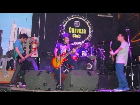(HD) Zoah The plot to bomb the pandhandle (ADTR Cover) vivo @ Cerveza Club, Ramos Mejía 06/07/2013