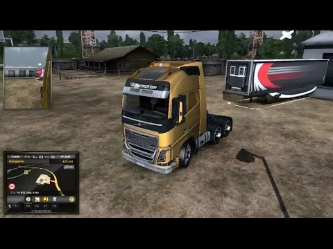 Euro Truck Simulator 2 Meat delivered from Djon to Rostock