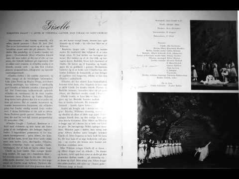 1964-vi-19 The Kiev Ballet: Giselle, staged by Corelli reel 88.1 (AUDIO ONLY).