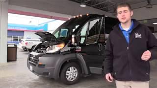 2014 Dodge Ram Promaster 13 Passenger Van - S17065