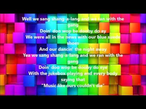 Shang-A-Lang by Bay City Rollers (Lyrics)