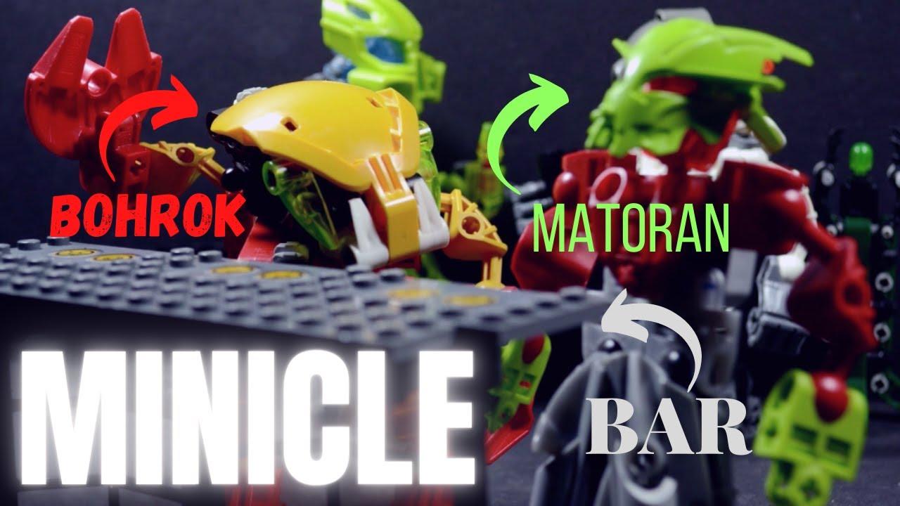 Minicle: A Bohrok and a Matoran Walk Into a Bar