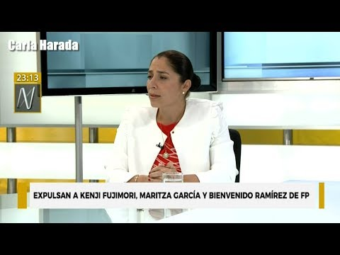 "Úrsula Letona: ""Kenji Fujimori no merecía estar en Fuerza Popular"""