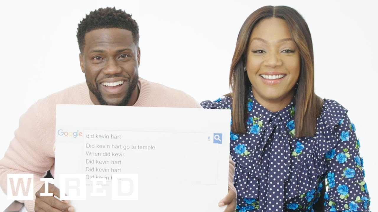 Kevin Hart and Tiffany Haddish Answer the Internet's Most Searched Questions About Them