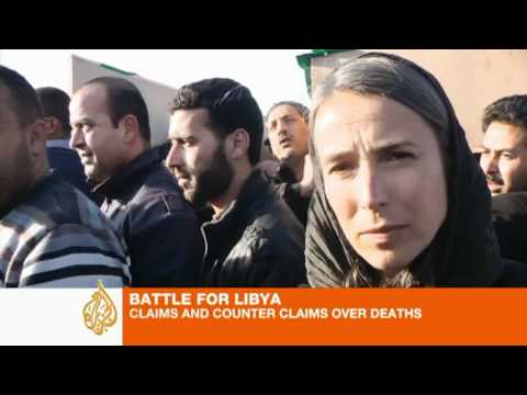 Libyan regime claims civilian deaths