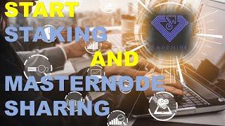 START STAKING & MASTERNODE SHARING YOUR SAPP COINS - DECENOMY COIN