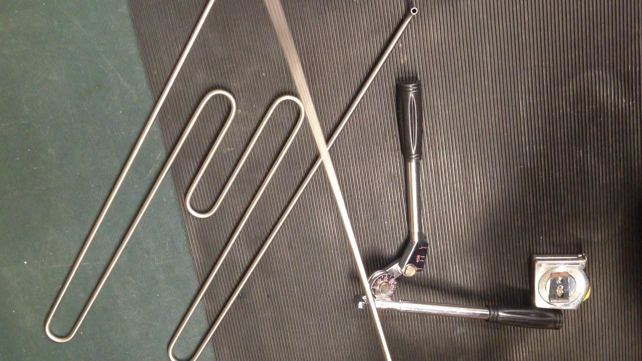 Koi pond heater diy part 3 coil bending youtube for Koi pond heater
