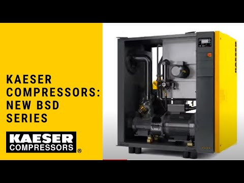 Kaeser Compressors New Bsd Series Youtube