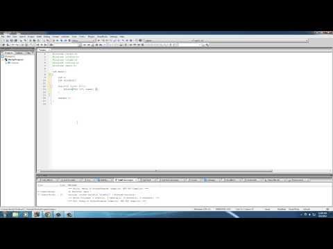 C Programming Tutorial - 38 - Random Number Generator With Rand