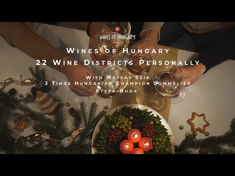 Wines of Hungary - 22 Wine Districts Personally - Etyek–Buda