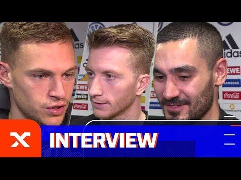 Pfiffe gegen DFB-Team! So reagieren Marco Reus & Co.   Deutschland - Serbien 1:1   SPOX