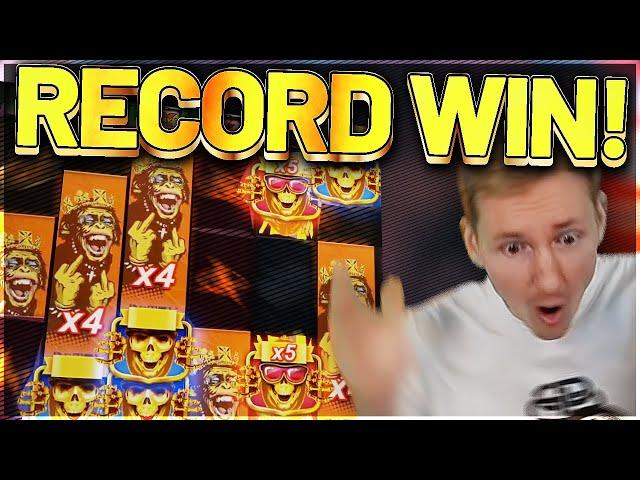 RECORD WIN! Punk Rocker Big win - MEGA WIN on Casino Games from Casinodaddy LIVE STREAM