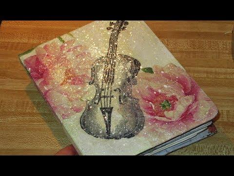 DIY Artists Journal from Address book