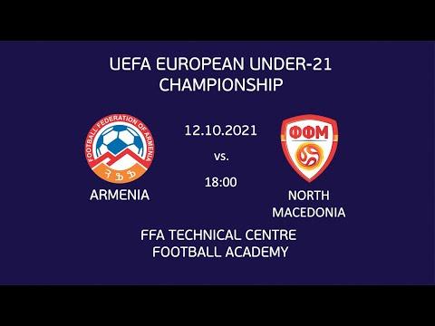 Armenia - North Macedonia. UEFA European Under-21 Championship Match