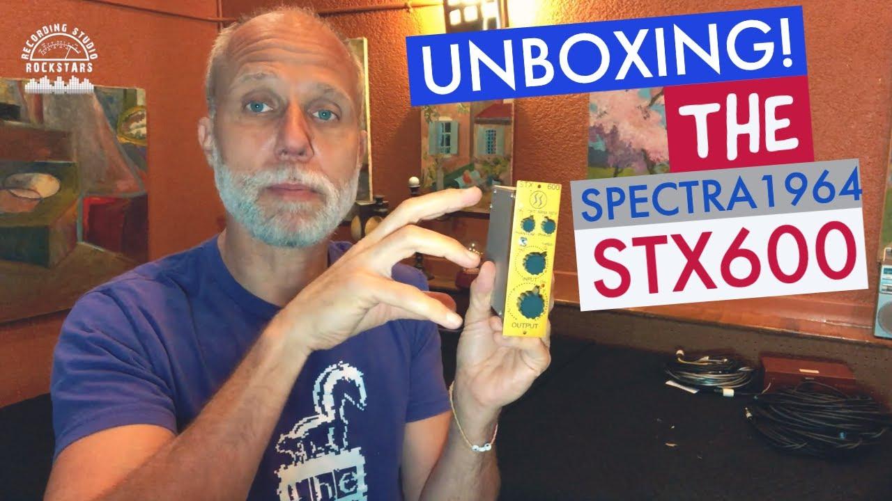 STX-600 unboxing