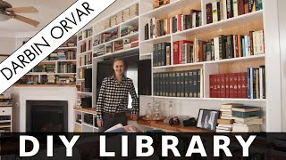 DIY Home Library with LED Lighting thumbnail