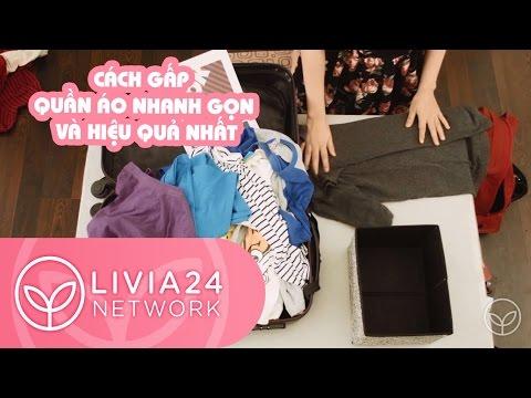 Cách gấp quần áo nhanh gọn và hiệu quả nhất | Webtretho