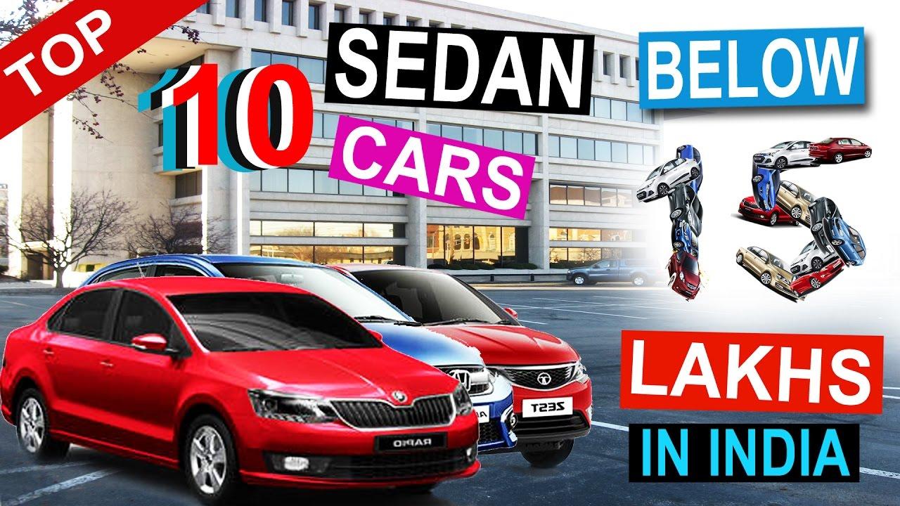 Top Sedan Cars In India Below Lakhs Youtube