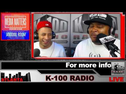 Media Matters SXSW 2017 K-100 Radio with Figaro Fox