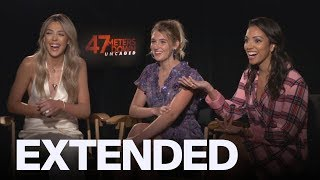Sistine Stallone, Corrine Foxx Share Which Of Their Dads Could Fight Off A Shark | EXTENDED