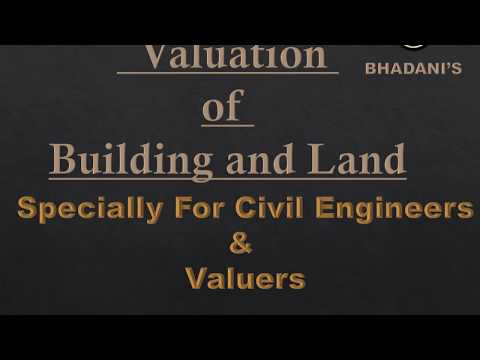 Valuation Training Video BHADANIS QS Institue India