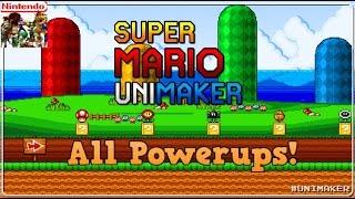 Super Mario UniMaker: All Powerups