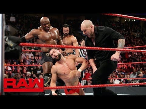 Strowman, Bálor & Angle vs. McIntyre, Corbin & Lashley: Raw, March 4, 2019