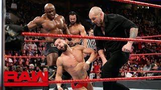 Strowman, Bálor & Angle vs. McIntyre, Corbin & Lashley: Raw, March 4, 2019
