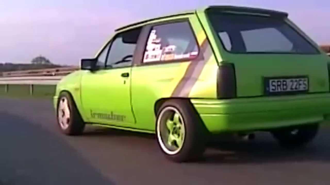 Fastest Opel Corsa of the World - V6 Turbo - YouTube